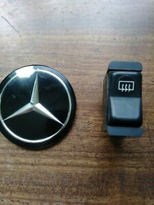 Mercedes Benz W123 W126 Rear Window Defroster Switch 1977 1991 Ebay