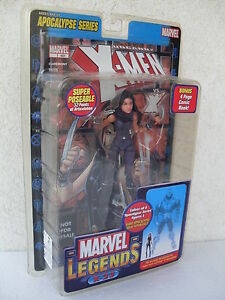 X 23 Figurine articulée, série Apocalypse, livre, hommes, Marvel Legends 71143