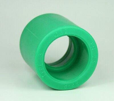 Fusiotherm 10 x PPR Aqua Plus Muffe mit 25mm Durchmesser