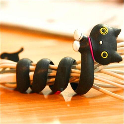 FD2399 Cartoon Earphone Headphone Cable Cord Organize Wrap Wind ~Brown Bear~1pc\