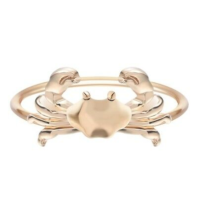Cute Crab Ring ~ Cancer Zodiac Jewellery Gold Colored