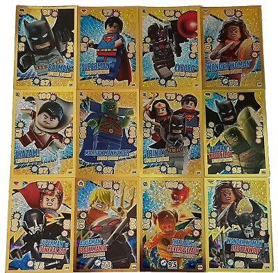 Sammelalbum Komplettsatz Karten LEGO BATMAN DC alle 202 Trading Cards KOMPLETT