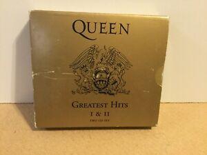 Queen-Greatest-Hits-I-amp-II-2-x-CD-Album-1992-REF-G1050