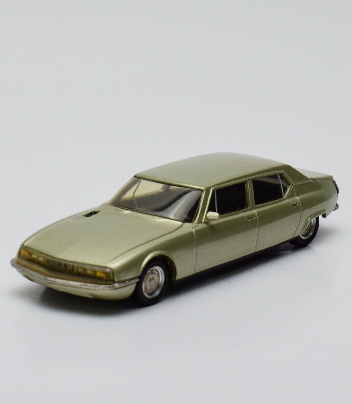 RARE Ministyle CITROEN SM OPERA Limousine dans champ Anger laqué, 1 43, v002