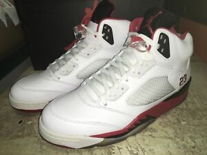 san francisco 3ed92 c03f2 Image is loading DS-MENS-NIKE-AIR-JORDAN-5-RETRO-FIRE-
