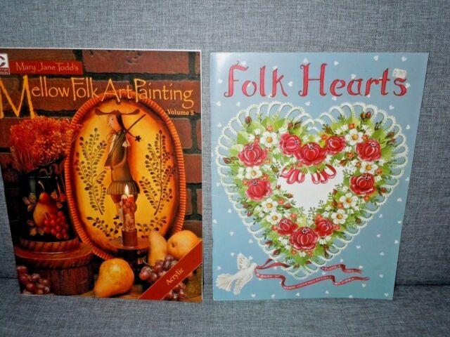 Holiday Folk Art Tole Painting Pumpkin Santa Snowman Decorative Wood Craft Books