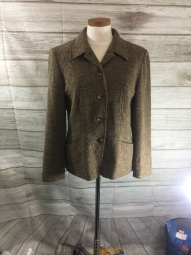 Pendleton Womans Brown Wool Business Casual Suit T