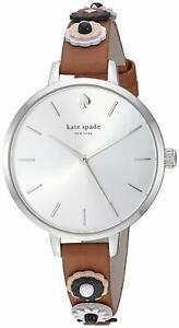 Kate-Spade-Metro-Western-Rivet-Leather-Watch-SILVER-BROWN