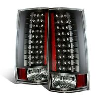 Cg Chevy Tahoe / Suburban 07-14 Led G4 Tail Light Black (escalade Look)