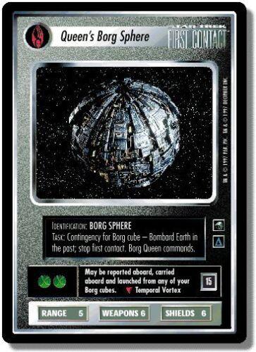 Star Trek CCG FC First Contact Queen/'s Borg Sphere