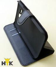 Handy Tasche Flip Cover Case für Samsung Galaxy Xcover3 Schwarz Schutzhülle