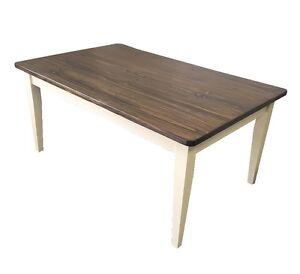 Essex Farmhouse Table (Rustic Harvest Farmhouse Kitchen Dinning Table)