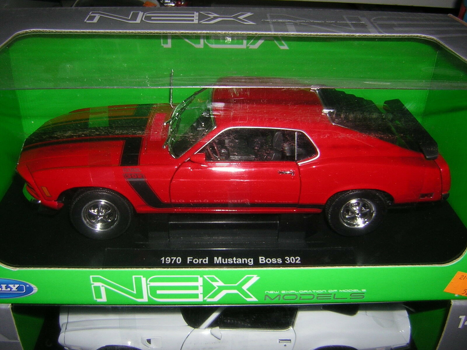 1 18 Ford Mustang Boss 302 1970 Welly