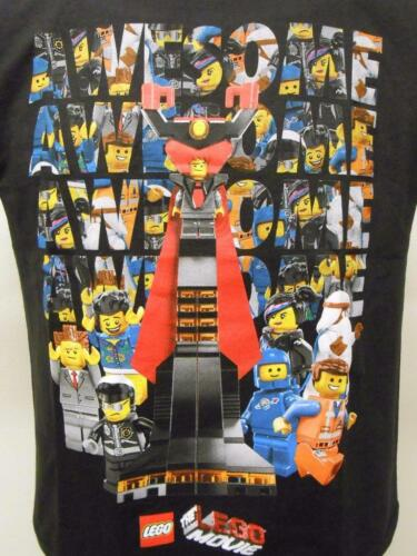 NEW Lego Movie Awesome YOUTH Size 8 S Small  Black Shirt