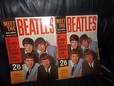 "THE BEATLES  GENUINE 1963- ""MEET THE BEATLES"" TONY BARROW AWESOME CONDITION FAB"