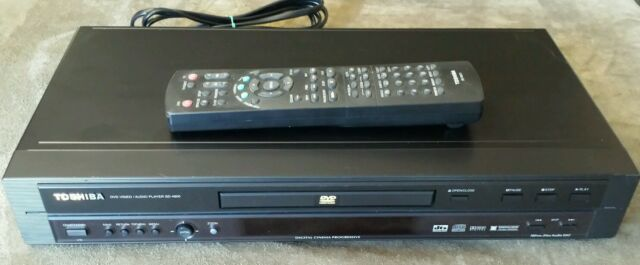 Tested Toshiba SD-4800 DVD Video / Audio Player w/ SE-R0071 Remote Control