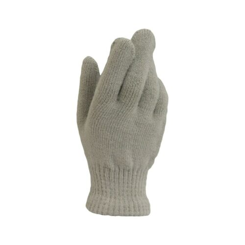 Ladies Warm Winter Magic Stretch Full Finger Gloves One Size 4 Colours