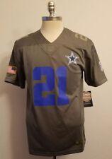 new arrivals 803be cb730 Youth Small Ezekiel Elliott Dallas Cowboys Nike NFL Salute to Service Jersey