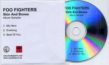 FOO FIGHTERS Skin & Bones Album Sampler 2007 UK 3-track promo only CD