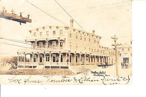 Image Is Loading Madison Me Weston House Hotel Rppc 1912