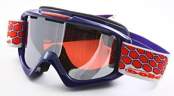 Bolle Ski Goggles Nova Red White & bluee Vermillon Lens 20128 - Authorized Dealer