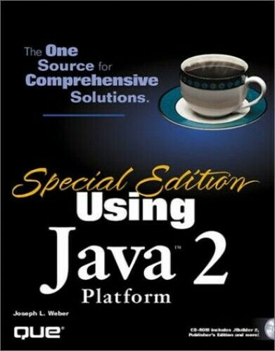Using Java 2 Platform (Special Edition Using...) by WEBER Paperback Book The