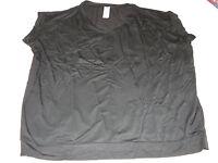 Womens Ladies Avon Ultimate Layering Top Shirt Blouse Black S/m F3934541 New;;