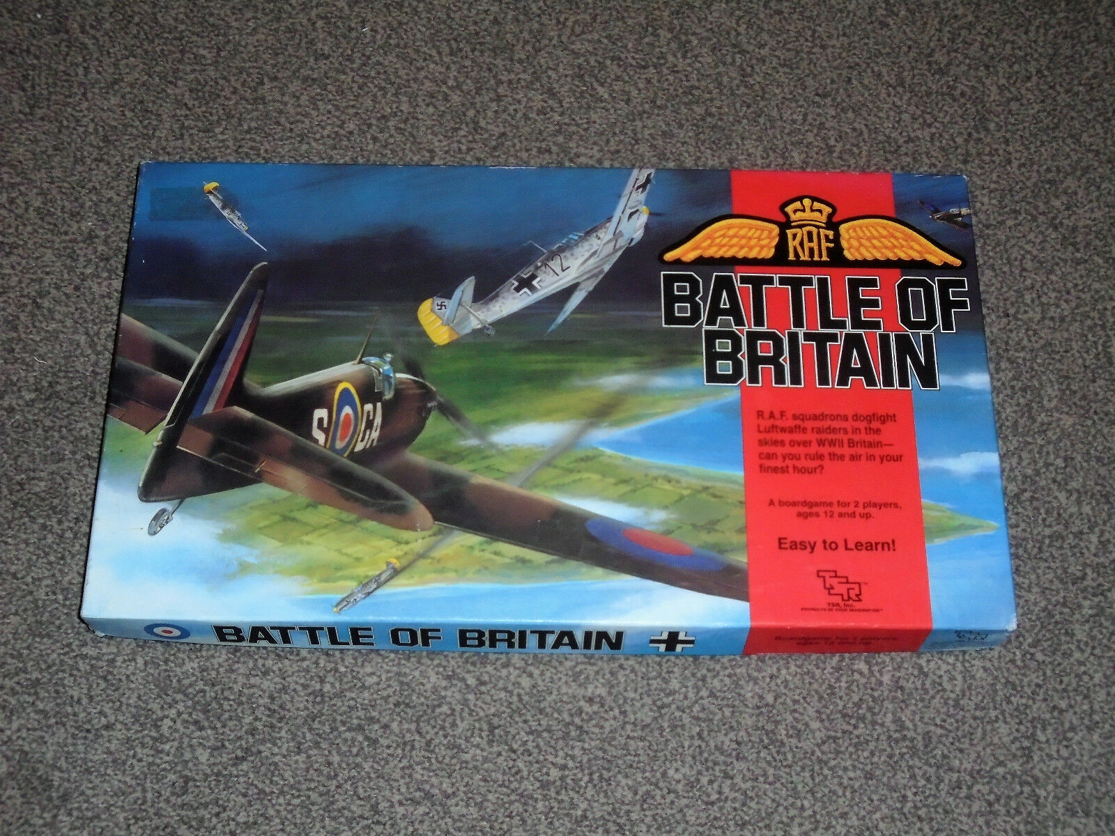 BATTLE OF BRITAIN   RARE 1990 TSR GAME - NEW WITH SEALED CONTENTS (FREE UK P&P)