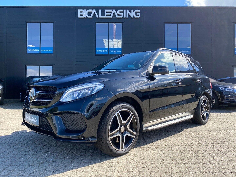 Mercedes GLE350 d 3,0 AMG Line aut. 4-M 5d - 779.800 kr.