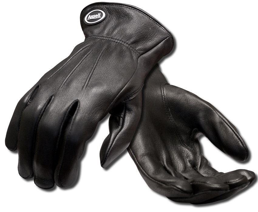 1 Oder 2 Paar Ansell Projex Driver Schwarz Echtes Weiches Leder Qualität
