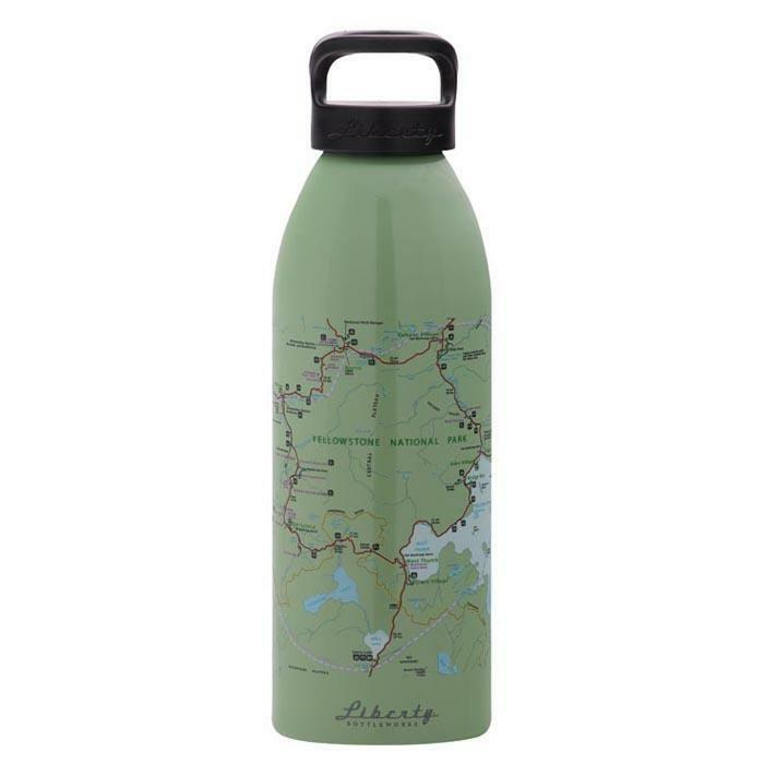 Liberty Bottleworks Yellowstone 32oz Water Bottle Edamame 32404128stblk