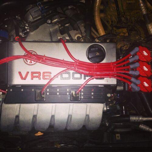 VR6 fait sur mesure pour MSD Coils 10 mm Formule Puissance Course Performance HT Leads