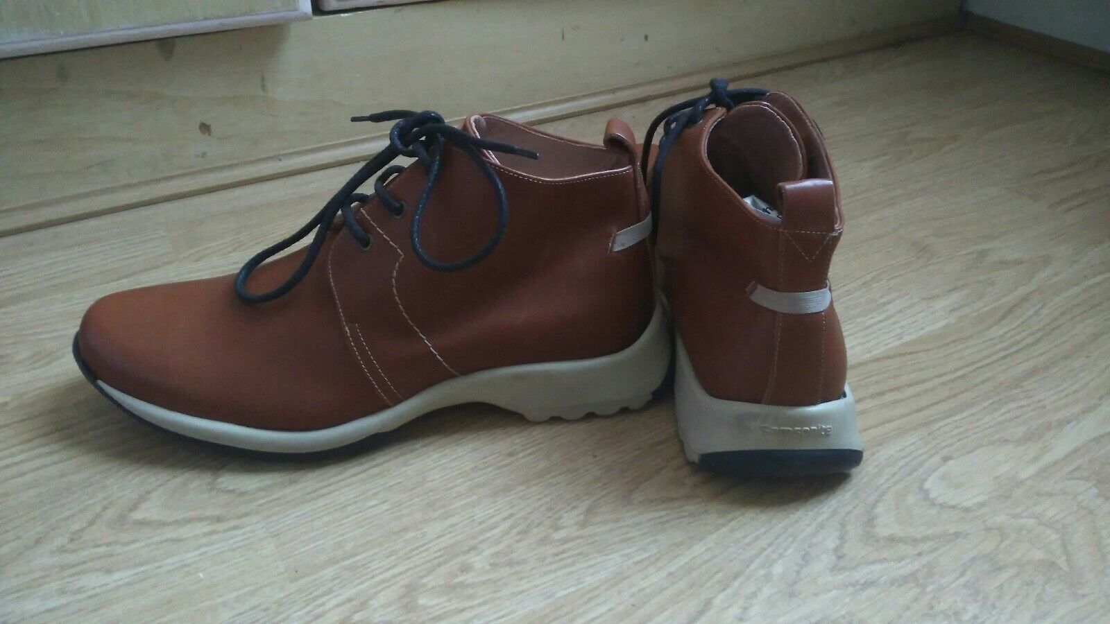 tan brown leather SAMSONITE size shoes. worn but in very good condition. size SAMSONITE 45 1d942f