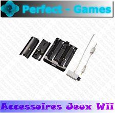 station de charge batteries dock charging NINTENDO Wii noir manette wiimote