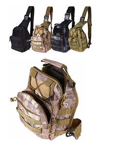 Outdoor-Army-Military-Tactical-Sling-Pack-Molle-Single-Shoulder-Backpack-Rucksac