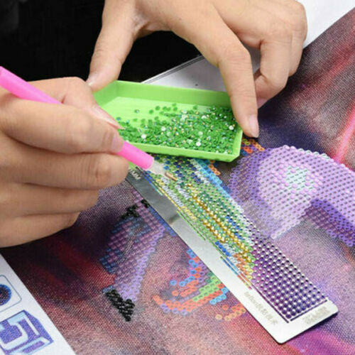 5D Diamond Painting Ruler Stainless Steel Cross Stitch Embroidery DIY Full Drill