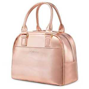 Details About Lunch Bag Cooler Women Tote Insulated Water Resistant Thermal Box