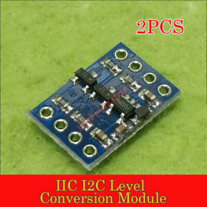 Details about 2PCS IIC I2C Level Conversion translator shifter Module 5-3v  For Arduino STM32