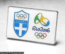 OLYMPIC PINS BADGE 2016 RIO DE JANEIRO BRAZIL INTERNAL COUNTRY NOC TEAM GREECE