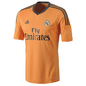 big sale e7459 4743e Details about ADIDAS REAL MADRID THIRD 3RD JERSEY 2013/14.
