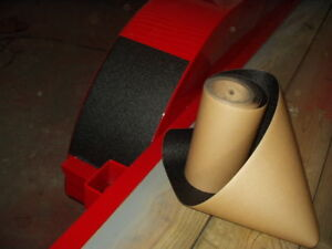 "sold per foot Vinyl Pebble Guard texture Adhesive Black 12/"" wide Roll"