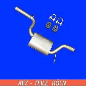 KSA79N1QB Set Mittelschalld/ämpfer Auspuffanlage