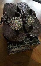 2d2299cd169a5 Blazin Roxx 4112802-05 Ladies Desinie Flip Flops Brown Size 5 for ...