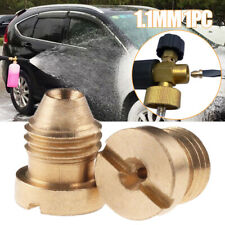 1.1mm Orifice Brass Nozzle Mold for Snow Foam Cannon Lance Replacement Universal