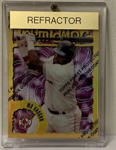 MO VAUGHN * 1996 Topps Finest Refractor #64 * Boston Red Sox