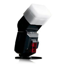 1x Weiß Flash-Bounce Diffusor Soft Cover für Canon Yongnuo 560 565EX