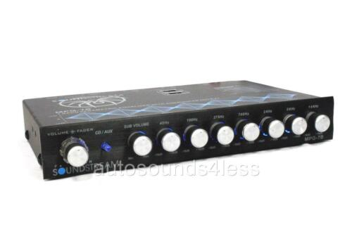 Soundstream MPQ-7B 7 Band Parametric Equalizer Subwoofer Level Control EQ New