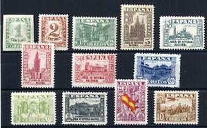 Sellos-de-Espana-1936-1937-n-802-813-Junta-de-Defensa-Nacional-nuevo