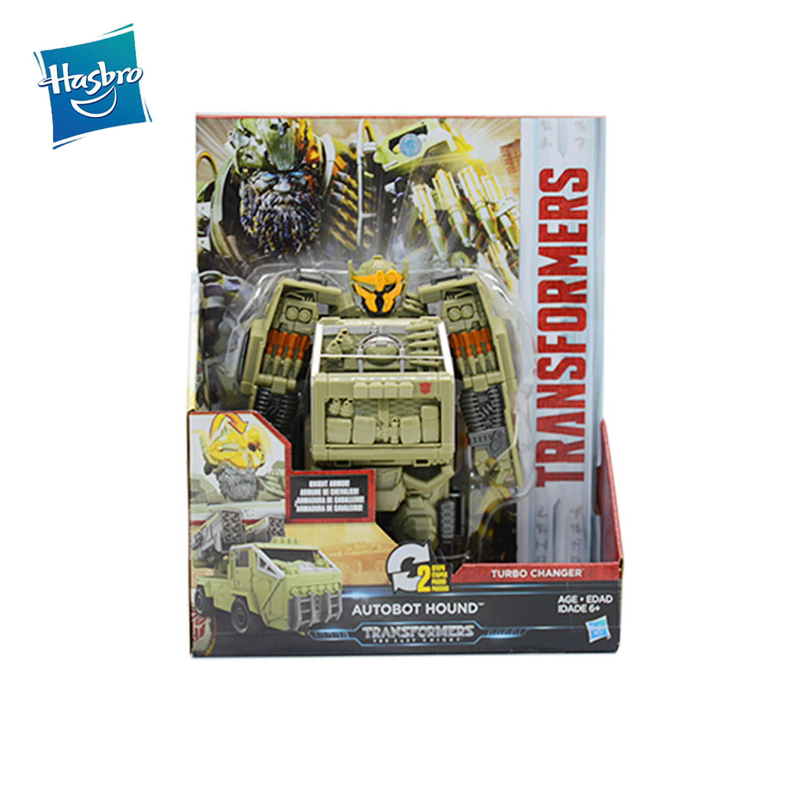 Transformers Transformers Transformers Movie 5 The Last Knight Turbo Changer AUTOBOT HOUND Collection New 323d67