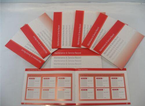 Servizio generico Sostituzione LIBRO DI STORIA adatto per KIA Rosso